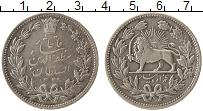 Изображение Монеты Азия Иран 5000 динар 1902 Серебро XF