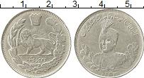 Изображение Монеты Азия Иран 2000 динар 1914 Серебро XF