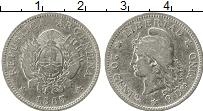 Изображение Монеты Аргентина 20 сентаво 1883 Серебро XF-
