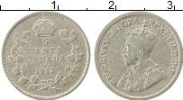 Изображение Монеты Канада 5 центов 1917 Серебро XF- Георг V