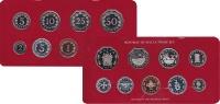 Изображение Подарочные монеты Мальта Набор монет 1981 года 1981  Proof
