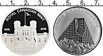 Изображение Монеты Канада Жетон 2018 Серебро Proof 100 лет Монетному дв