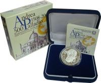 Изображение Подарочные монеты Италия Андреа Палладио 2008 Серебро Proof