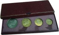 Изображение Подарочные монеты Монако Набор пробных монет 1950 года 1950  UNC