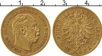 Изображение Монеты Германия Пруссия 20 марок 1887 Золото XF