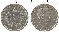 Изображение Монеты Гавайские острова 1 дайм 1883 Серебро UNC-