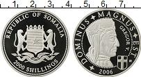 Изображение Монеты Африка Сомали 2000 шиллингов 2006 Серебро Proof