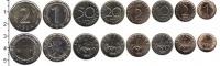Изображение Наборы монет Болгария Болгария 1999-2015 1962  UNC- В наборе 7 монет ном
