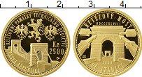 Изображение Монеты Европа Чехия 2500 крон 2008 Золото Proof