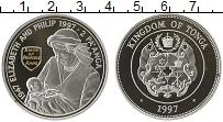 Изображение Монеты Австралия и Океания Тонга 2 паанга 1997 Серебро Proof-