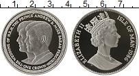 Изображение Монеты Великобритания Остров Мэн 1 крона 1986 Серебро Proof-