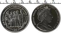 Изображение Монеты Северная Америка Виргинские острова 10 долларов 2006 Серебро Proof