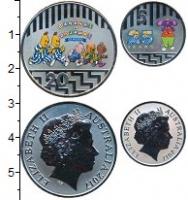 Изображение Наборы монет Австралия Набор 2017 года 2017 Медно-никель UNC