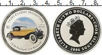 Изображение Монеты Новая Зеландия Острова Кука 2 доллара 2006 Серебро Proof