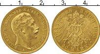 Изображение Монеты Пруссия 20 марок 1900 Золото UNC- А, KM#520. A. Вильге