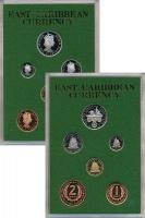 Изображение Подарочные монеты Карибы Набор 1965 года 1965  Proof