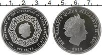 Изображение Монеты Тристан-да-Кунья 1 крона 2013 Посеребрение Proof