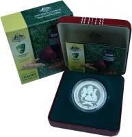 Изображение Подарочные монеты Австралия 5 долларов 2007 Серебро Proof