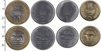 Изображение Наборы монет Индия Индия 2010 2010  UNC-