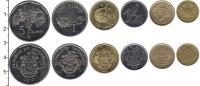 Изображение Наборы монет Сейшелы Сейшелы 2004-2012 0  UNC В наборе 6 монет ном