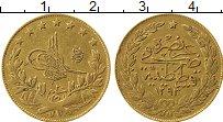 Изображение Монеты Азия Турция 100 куруш 1897 Золото XF