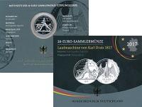 Изображение Подарочные монеты Германия 20 евро 2017 Серебро Proof