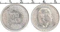 Изображение Монеты Египет 25 пиастров 1970 Серебро UNC- Насер