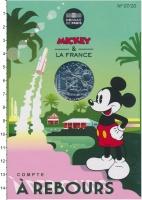 Изображение Подарочные монеты Франция 10 евро 2018 Серебро UNC Серия  монет  Микки