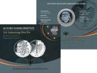 Изображение Подарочные монеты Германия 20 евро 2016 Серебро Proof