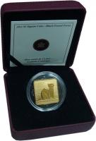 Изображение Подарочные монеты Канада 3 доллара 2011 Серебро Proof Черный быстроногий х