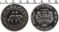 Изображение Монеты Сингапур 10 долларов 1986 Медно-никель UNC