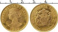 Изображение Монеты Южная Америка Чили 50 песо 1969 Золото UNC