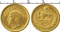 Изображение Монеты Азия Иран 25 песет 1955 Золото UNC