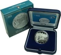 Изображение Подарочные монеты Италия 5 евро 2018 Серебро Proof Вилла Пизани - Венет