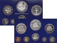 Изображение Подарочные монеты Барбадос Выпуск 1976 года 1976  Proof
