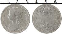 Изображение Монеты Великобритания 1/2 кроны 1900 Серебро VF Виктория