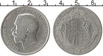 Изображение Монеты Европа Великобритания 1/2 кроны 1917 Серебро VF