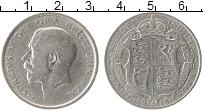 Изображение Монеты Европа Великобритания 1/2 кроны 1918 Серебро XF-