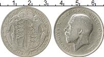 Изображение Монеты Европа Великобритания 1/2 кроны 1913 Серебро VF