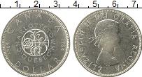 Изображение Монеты Канада 1 доллар 1964 Серебро UNC- 100-летие провинции