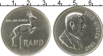 Изображение Монеты Африка ЮАР 1 ранд 1967 Серебро XF