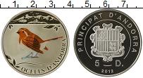 Изображение Монеты Европа Андорра 5 динерс 2012 Серебро Proof