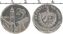 Изображение Мелочь Куба 20 сентаво 2002 Медно-никель XF+