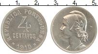 Изображение Монеты Португалия 4 сентаво 1919 Медно-никель XF