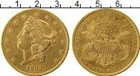 Изображение Монеты Северная Америка США 20 долларов 1893 Золото XF+