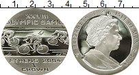 Изображение Монеты Остров Мэн 1 крона 2004 Серебро Proof-