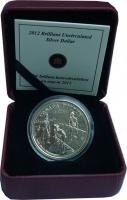 Изображение Подарочные монеты Канада 1 доллар 2012 Серебро BUNC