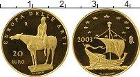 Изображение Монеты Европа Италия 20 евро 2003 Золото Proof