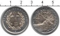 Изображение Наборы монет Турция 1 лира 2012 Биметалл UNC