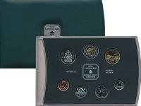 Изображение Подарочные монеты Канада Набор 2000 года 2000  Proof В набор входит 7 мон